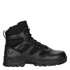 "Thorogood 804-6190 - Men's/Women's - 6"" The Deuce Series Waterproof Side Zip Composite Safety Toe - Black"