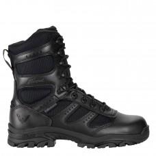 Thorogood 804-6191 - Men's/Women's - 8 Inch Deuce Series Waterproof Side Zip Composite Safety Toe - Black