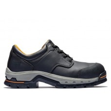 Timberland PRO 1100A - Men's - Stockdale EH Alloy Toe Work Shoe - Black Raptek Microfiber