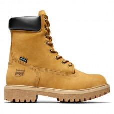 """Timberland PRO 26002 - Men's - 8"""" Direct Attach EH Insulated Waterproof Steel Toe Boot - Wheat Nubuck"""