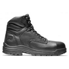 "Timberland PRO 26064 - Men's - 6"" TiTAN® Alloy Safety Toe Boot - Black Full-Grain"
