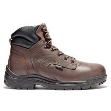 "Timberland PRO 26078 - Men's -6"" TiTAN® -EH Waterproof Alloy Toe Boot - Dark Mocha Full-Grain"