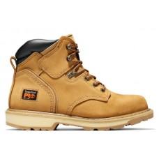 """Timberland PRO 33030 - Men's -6"""" EH Pit Boss Soft Toe Boot - Wheat Nubuck"""