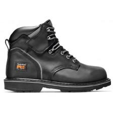 "Timberland PRO 33032 - Men's - 6"" Pit Boss EH Steel Toe Boot - Black Oiled Nubuck"