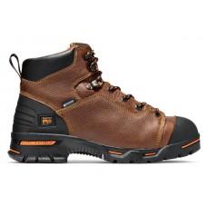 "Timberland PRO 47591 - Men's - 6"" Endurance EH Waterproof  Steel Toe Boot - Rancher Brown Full Grain Leather"