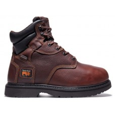 "Timberland PRO 50504 - Men's - 6"" Flexshield Internal Met Guard EH Steel Toe Boot - Burgundy Oiled Full-Grain Leather"