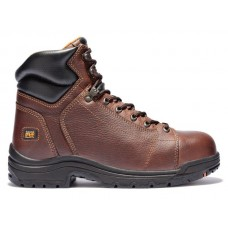 "Timberland PRO 50506 - Men's - 6"" Titan EH Alloy Toe Boot - Haystack Brown Full-Grain Leather"