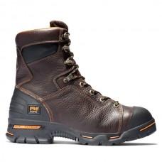 "Timberland PRO 52561 - Men's - 8"" Endurance EH Steel Toe Boot - Briar Full-Grain Leather"