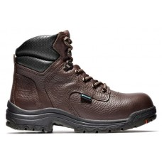"Timberland PRO 53359 - Women's - 6"" TiTAN EH Waterproof Alloy Toe - Dark Mocha"