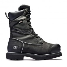 "Timberland PRO 53531 - Men's - 10"" Gravel Pit  Met Guard EH Waterproof Insulated Steel Toe Boot - Black Full Grain Leather"