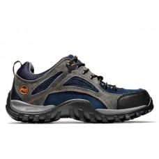 Timberland PRO 61009 - Men's - Mudsill EH Hiker Steel Toe - Grey/Sapphire Split Suede