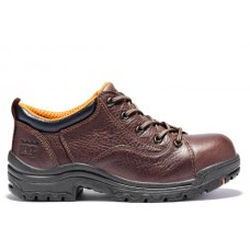 Timberland PRO 63189 - Women's - Oxford EH Alloy Toe - Brown Full Grain Leather