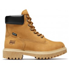 """Timberland PRO 65016 - Men's - 6"""" Direct Attach EH Waterproof Insulated Steel Toe Boot - Wheat Nubuck Leather"""