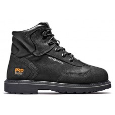 """Timberland PRO 85516 - Men's - 6"""" Met Guard EH Steel Toe Boot - Black Ever Guard™ Leather"""