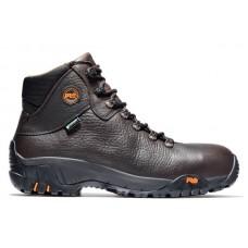 "Timberland PRO 85520 - Men's - 6"" Titan Trekker EH Waterproof Alloy Toe Hiker - Worchester Rancher Full Grain Leather"