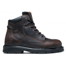 """Timberland PRO 85591 - Men's - 6"""" Magus EH Steel Toe Boot - Brown Oiled Nubuck Leather"""