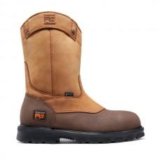Timberland PRO 89604 - Men's - Rigmaster Wellington EH Waterproof Steel Toe - Wheat Bandit Full Grain