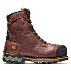 """Timberland PRO 89628 - Men's - 8"""" Boondock EH  Waterproof Insulated Composite Toe - Brown"""