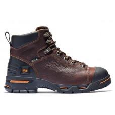"Timberland PRO 89631 - Men's - 6"" Endurance EH Soft Toe Boot - Briar Full Grain Leather"