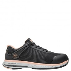 Timberland PRO A1XHT - Women's - Drivetrain EH Composite Toe -  Black Ripstop Nylon Upper with Pink
