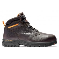 """Timberland PRO A227X - Men's - 6"""" Band Saw EH Composite Steel Toe - Brown Full Grain Red"""