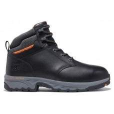 """Timberland PRO A25Q5 - Men's - 6"""" Band Saw EH Composite Steel Toe - Black Full-Grain Leather"""