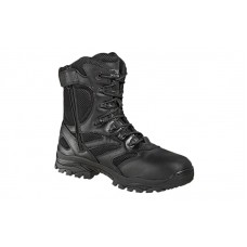 Thorogood - 804-6191 - Men's/Women's - 8 Inch Waterproof Side Zip Composite Safety Toe - Black