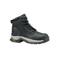 "Timberland PRO 1064A - Men's - Stockdale - Alloy Toe - 6"" Work Boots - Black Raptek Microfiber"
