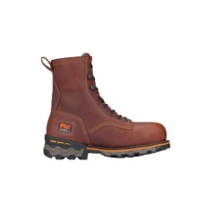 "Timberland PRO 1112A - Men's - Boondock - Composite Toe - 8"" Work Boot - Waterproof - Brown Tumbled"