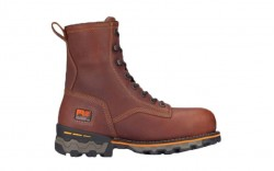 """Timberland PRO 1113A - Men's - Boondock - Soft Toe - 8"""" Work Boot - Waterproof - Tumbled Brown"""