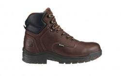 "Timberland PRO 26078 - Men's - TiTAN® - Alloy Toe - Waterproof - 6"" Boot - Dark Mocha Full-Grain"