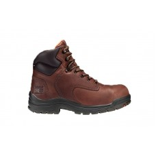 "Timberland PRO 26388 - Women's - TiTAN® - Alloy Toe - 6"" Boot - Coffee Full-Grain"