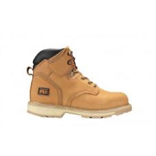"""Timberland PRO 33030 - Men's - Pit Boss - Soft Toe - 6"""" Boot - Wheat Nubuck"""