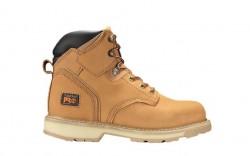 """Timberland PRO 33031 - Men's - Pit Boss - Steel Toe - 6"""" Boot - Wheat Nubuck"""