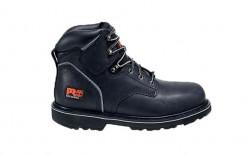 "Timberland PRO 33032 - Men's - Pit Boss - Steel Toe - 6"" Boot - Black Oiled Nubuck"