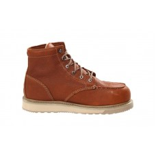 Timberland PRO 88559 - Men's - 6 Inch Barstow Wedge Moc Alloy Toe - Rust