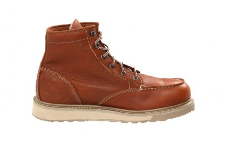 Timberland PRO 89647 - Men's - 6 Inch Barstow Wedge Moc Soft Toe - Rust