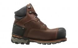 Timberland PRO 92615 - Men's - 6 Inch Boondock Waterproof Composite Toe - Brown