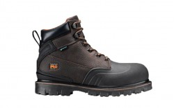 "Timberland PRO A11RO - Men's - Rigmaster - Steel Toe - Waterproof - 6"" Work Boot - Brown Tumbled Leather"