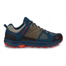 Vasque 7357 - Women's - Breeze LT Low GTX Hiking Shoe - Majolica Blue/ Red Clay