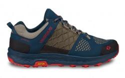 Vasque 7357 - Women's - Breeze LT Low GTX Hiking Shoe - Majolica Blue/ Red Clay