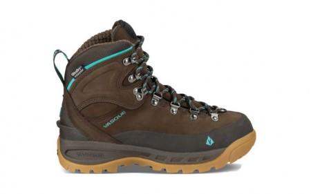 Vasque 7839 - Women's - Snoblime UltraDry Winter Hiking - Turkish Coffee/Scuba Blue