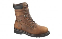 Wolverine 10082 - Men's - Brek Durashocks Waterproof 8 Inch Steel Toe EH Work Boot - Brown