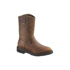 Wolverine 10084 - Men's - Brek Durashocks Waterproof Wellington Steel Toe EH Work Boot - Dark Brown