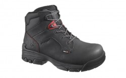Wolverine 10112 - Men's - Merlin Waterproof Composite Toe EH 6 Inch Work Boot - Black