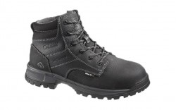 Wolverine 10177 - Men's - Joliet Waterproof Composite Toe EH 6 Inch Work Boot - Black