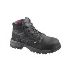 Wolverine 10181 - Women's - Piper Waterproof Composite Toe EH 6 Inch Work Boot - Black