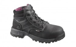Wolverine 10181 - Women's - Piper Waterproof Composite Toe EH 6 Inch Work Boot - Black