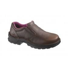 Wolverine 10192 - Women's - Bailey Opanka Steel Toe EH Slip-On Work Shoe - Brown