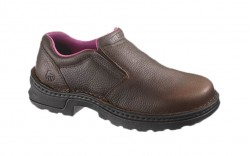 Wolverine 10192 - Women's - Bailey Opanka Steel Toe EH Slip-On Work Shoe - Brown